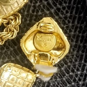 CHANEL Jewelry - Authentic chanel vintage clip on earrings